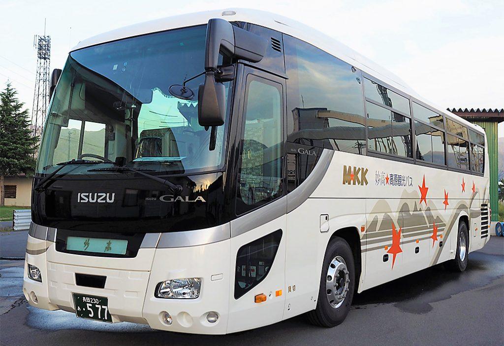 妙高高原観光バス-車両写真