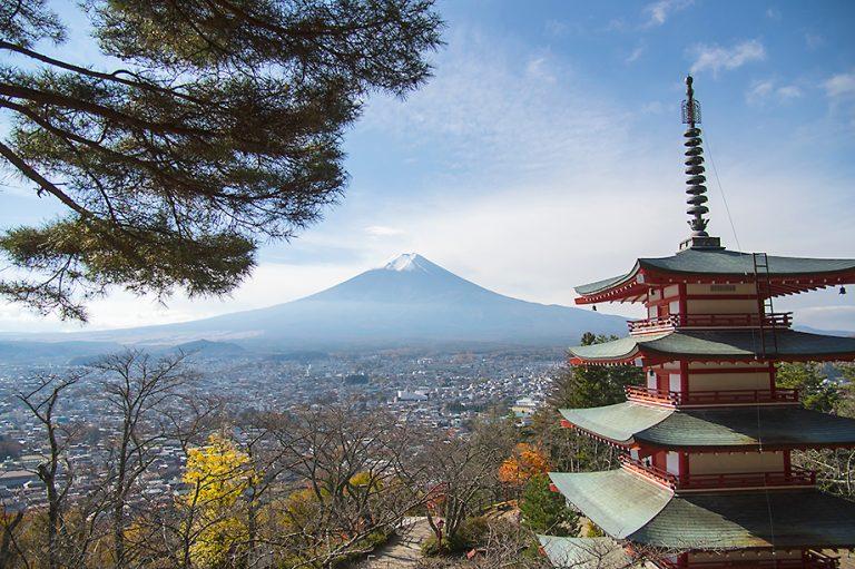 富士山-浅間公園展望台