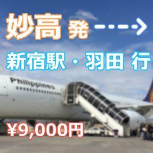【羽田便】Mt.Myoko Shuttle  新宿駅・空港行き