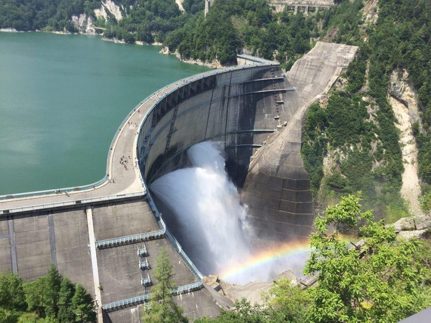 【日帰り】日本三大渓谷 日本の秘境黒部ダムの放水見学に行こう!