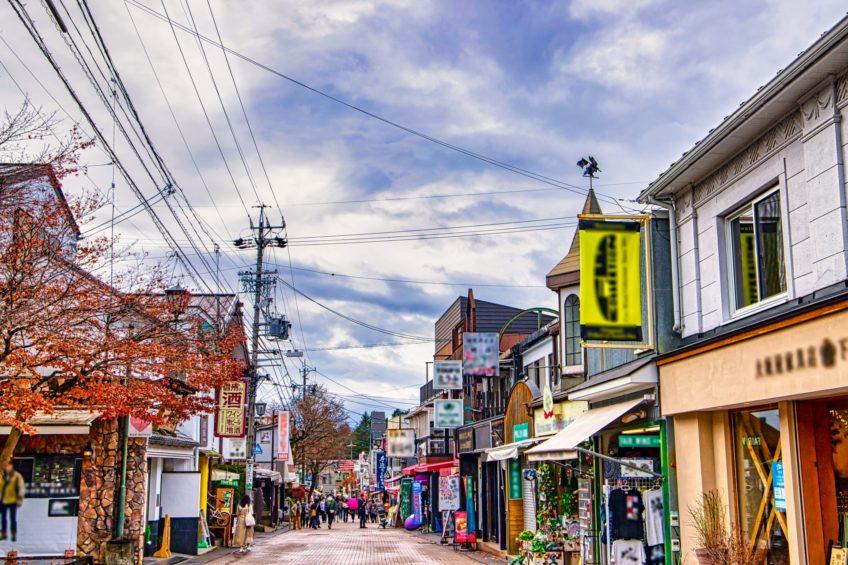 【日帰り】憧れのリゾート『軽井沢』満喫とショッピング
